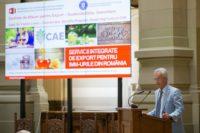"""Proiectului """"Servicii integrate de export pentru IMM-urile din România"""""""