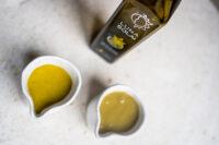 Maioneza din ulei de samburi de dovleac cu galbenus de ou (vegetarian)